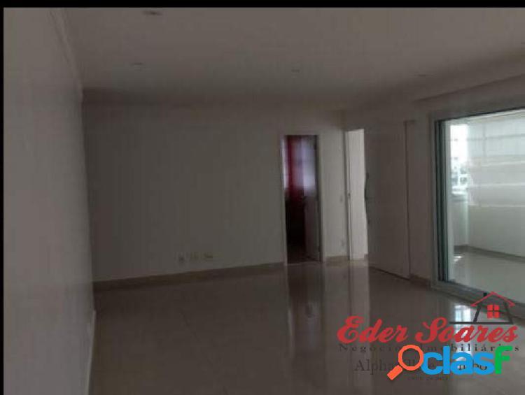 Apartamento para locação no residencial more, alphaville
