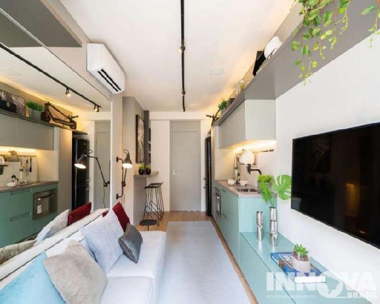 Apartamento residencial em são paulo - sp, pinheiros