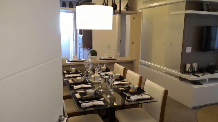 Apartamento 71 m2 - 2 dormitórios - com churrasqueira a