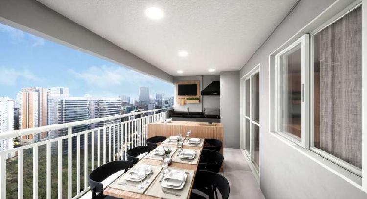 Apartamento novo na Vila Romana com 3 dormitórios