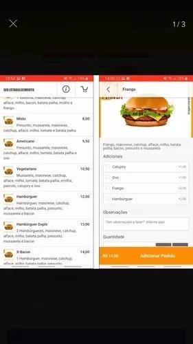 App delivery compre já (basico e prémio valor a combinar)