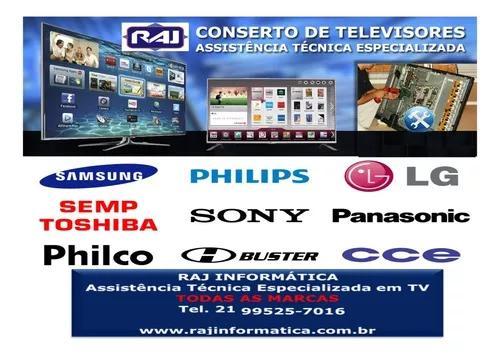 Assistência técnica especializada tv lcd, led, smart e