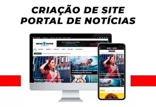 Criação de site portal de noticias - simples de manusear