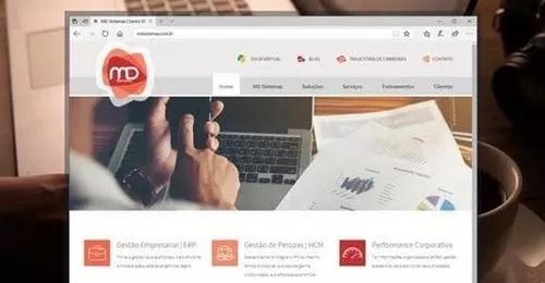 Criação de sites profissionais com equipe qualificada!