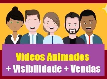 Criação de vídeos animados (***oferta***)