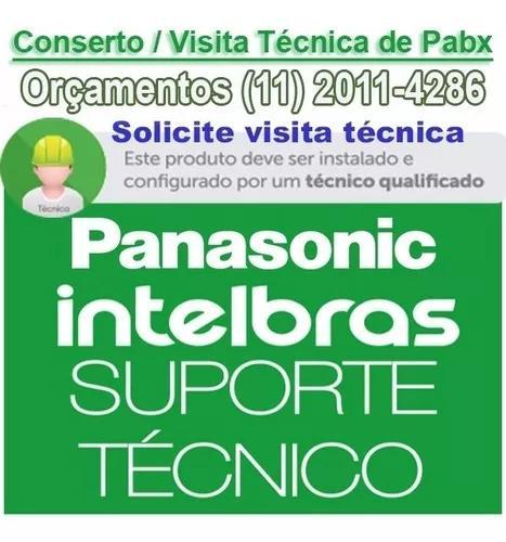 Instalação - configuração e assistencia pabx intelbras