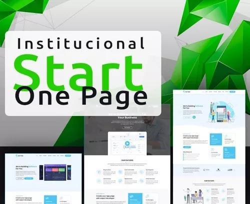 Site institucional - start (compromisso anual)