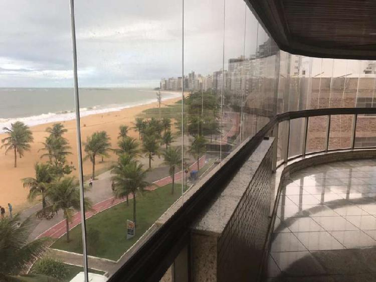 Frente mar praia da costa apartamento 4 quartos 2 suítes