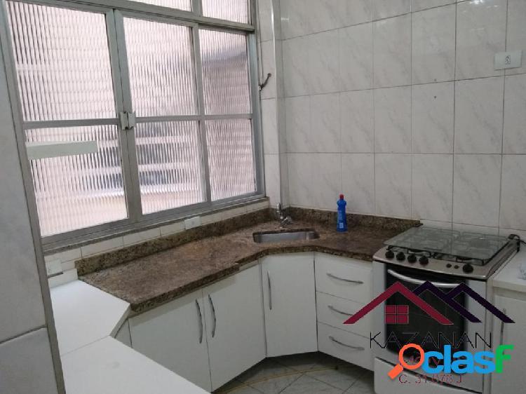 2 dormitórios -1 vaga de garagem - boqueirão - santos/sp