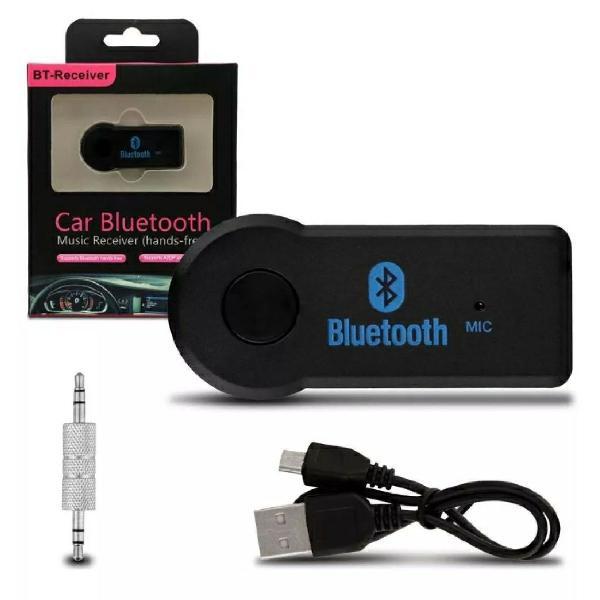 Adaptador receptor bluetooth carro chamada som