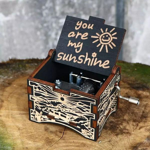 Caixinha de Música You Are My Sunshine exclusiva