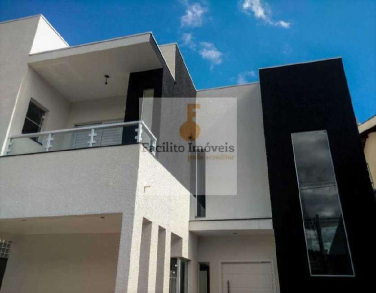 Casa em bairro nobre para venda, bragança paulista-sp