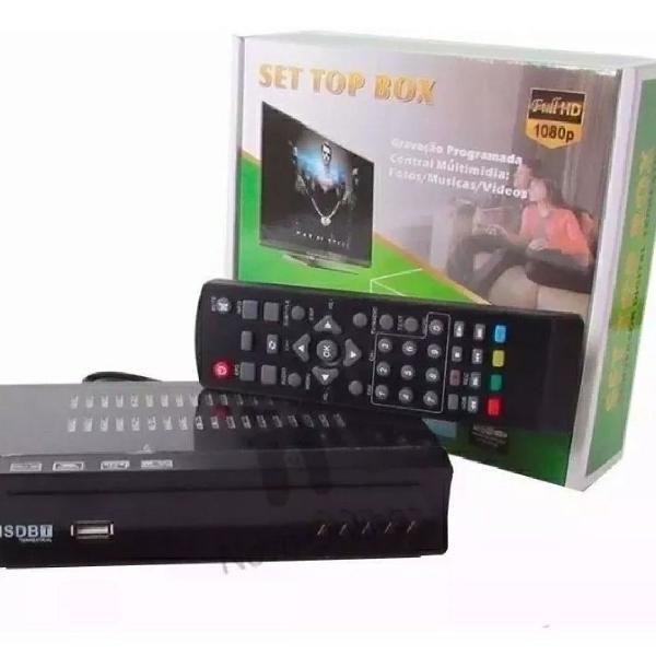 Conversor e gravador digital de tv full hd