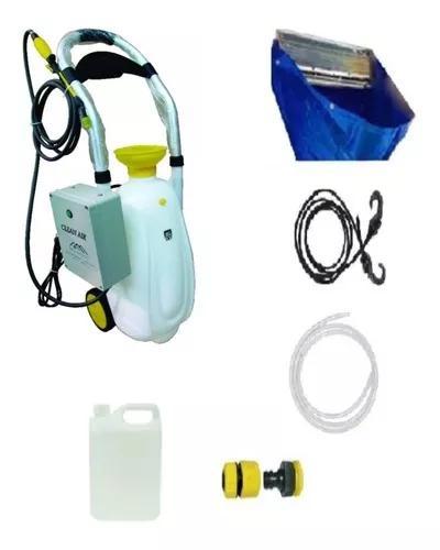 Máquina limpeza ar condicionado clean air + kit coletor