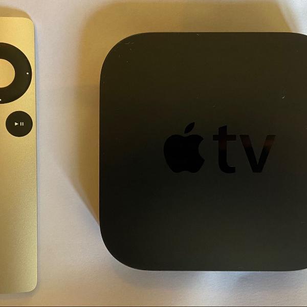 Apple tv original na caixa