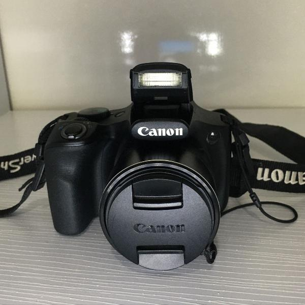 Camera semi profissional canon powershot sx520 hs com 32gb