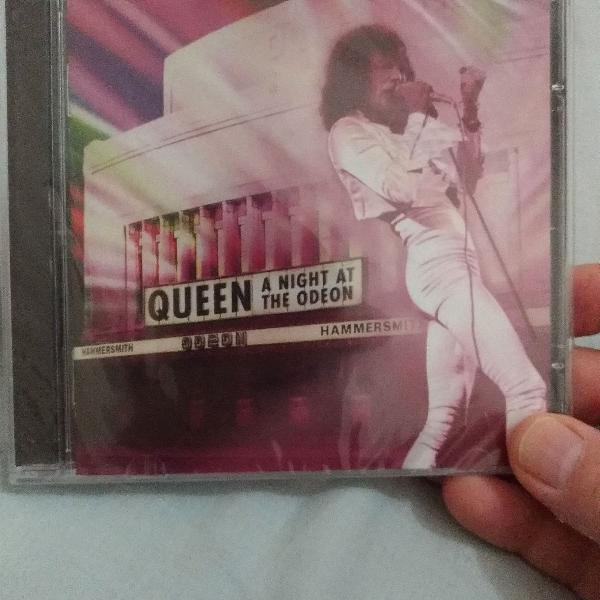 Cd lacrado- queen - a night at the odeon hammersmith