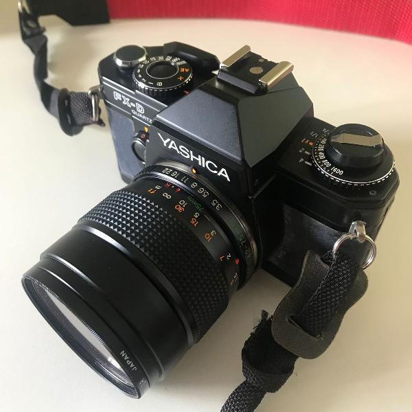Câmera analógica yashica fx-d quartz