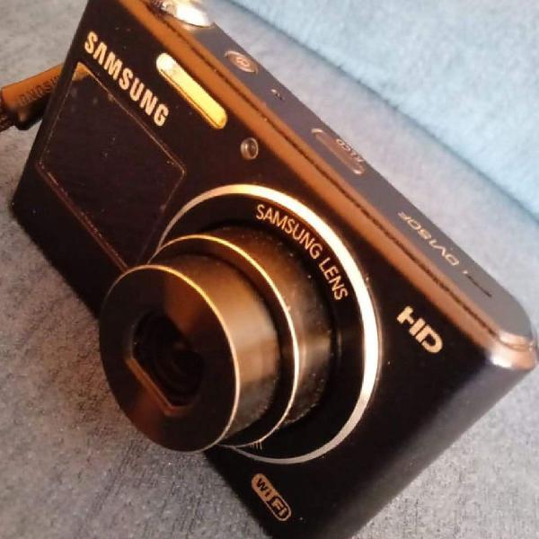 Câmera digital samsung wifi - dv150f - visor frontal