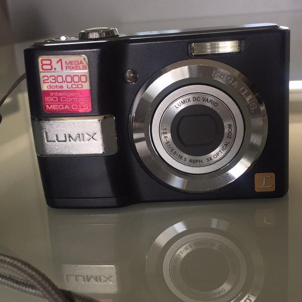 Câmera lumix, panasonic
