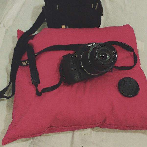 Câmera profissional sony cyber-shot dsc-hx400