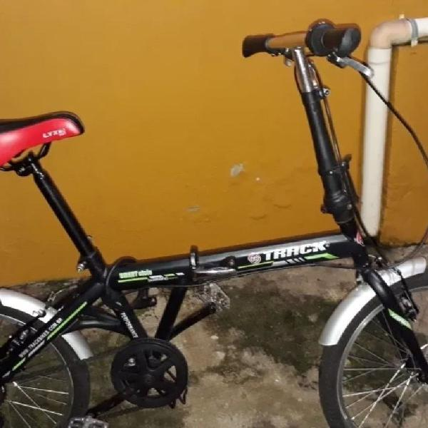 Bicicleta dobrável track