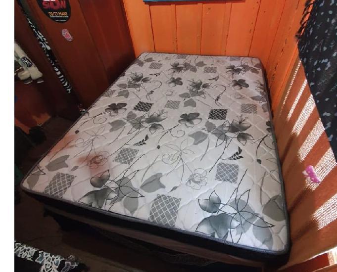 Cama completa, colchão + box