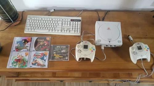 Dreamcast completo - é só ligar e jogar - combo vários