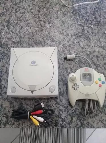 Dreamcast funcionando perfeitamente