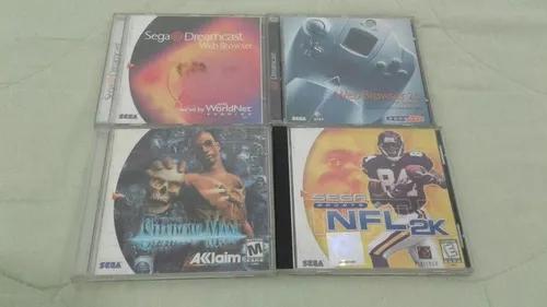 Jogos de dreamcast originais.