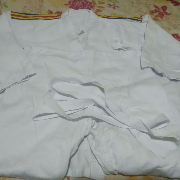 Kimono judô branco shihan a1 - (produto oficial da cbj)