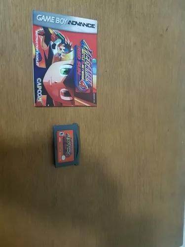 Megaman battle network 4 red sun original game boy advance