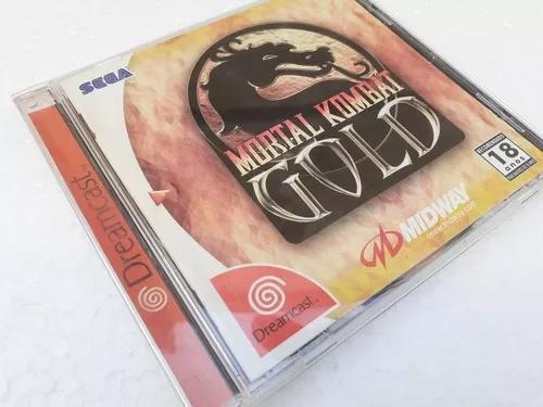 Mortal kombat gold dreamcast tectoy raro frete gratis 12x sj
