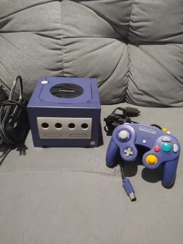 Nintendo game cube índigo completo