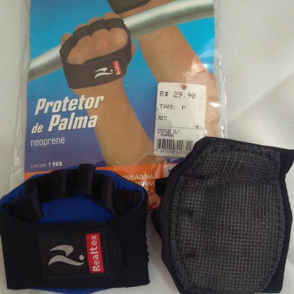 Protetor/luva de palmas/mãos academia