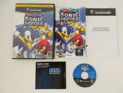 Sonic heroes americano completo nintendo gamecube