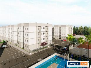 Terra de Santa Cruz II Apartamento com 2 dormitórios à