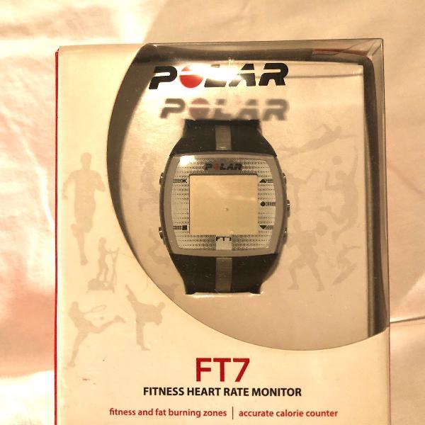 Monitor cardíaco polar ft7 cinza