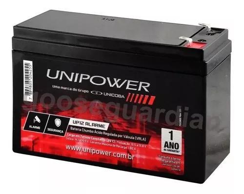 Bateria 12v 7ah p/nobreak alarme cerca elétrica segurança