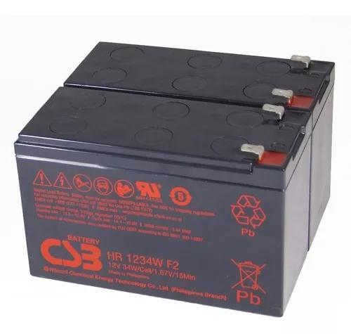 Bateria csb nobreak apc rs 1500 original 100% novas