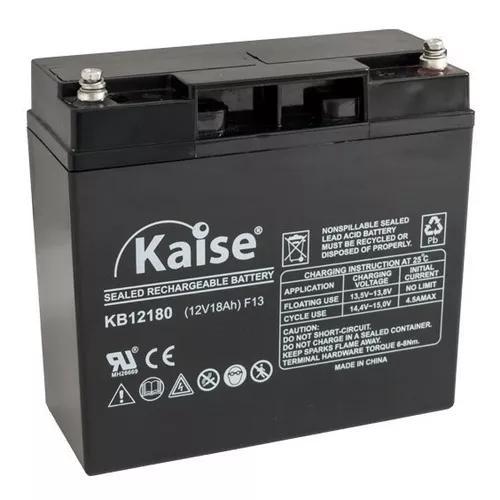 Bateria estacionaria 12v 18ah vrla kaise com nf