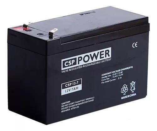 Bateria recarregável selada 12 volts 7 ah