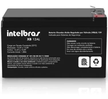 Bateria selada 12 volts - intelbras - p/ alarme e cerca