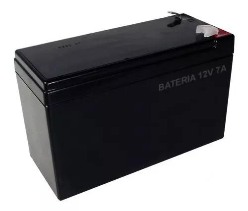 Bateria selada 12v 7a p/ alarme e cerca elétrica -