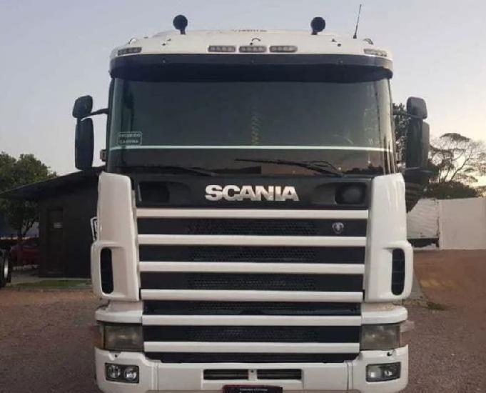 Caminhão scania r 124 420 6x2 trucado 20072008