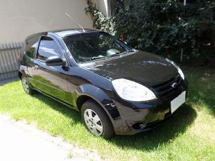 Ford ka zetec 1.0 flex 2009, preto, completo (menos dh)