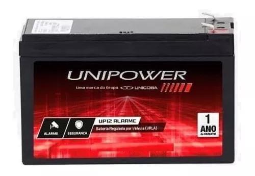 Kit 10x bateria 12v central alarme cerca elétrica nobreak