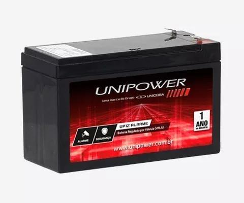 Kit com 5 bateria 12v unicoba alarme cerca elétrica seg