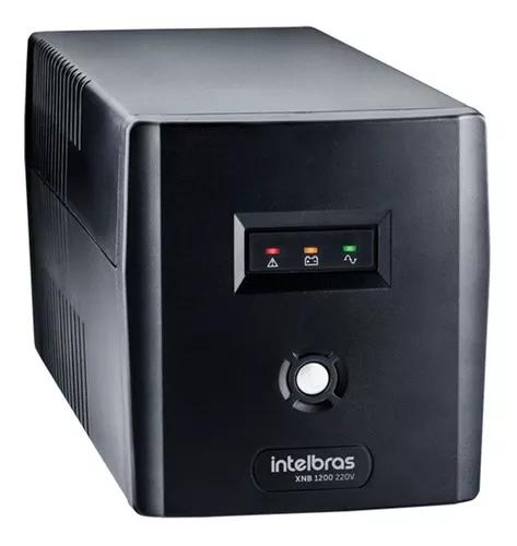 Nobreak alimentação dvr segurança intelbras xnb 1200 va