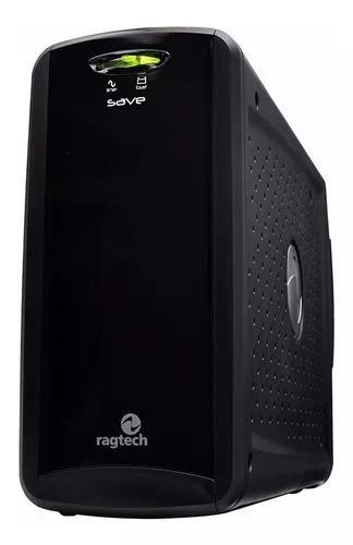 Nobreak estabilizador 600va bivolt pc tv ps3 ps4 xbox 360